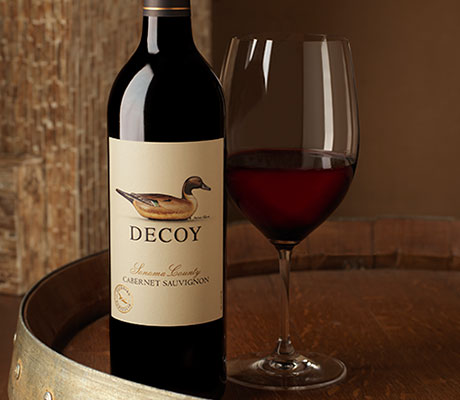 decoy cabernet sauvignon on barrel