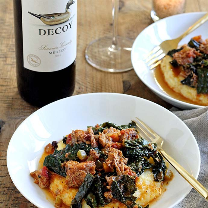 Recipe: Pork Ragu with Polenta
