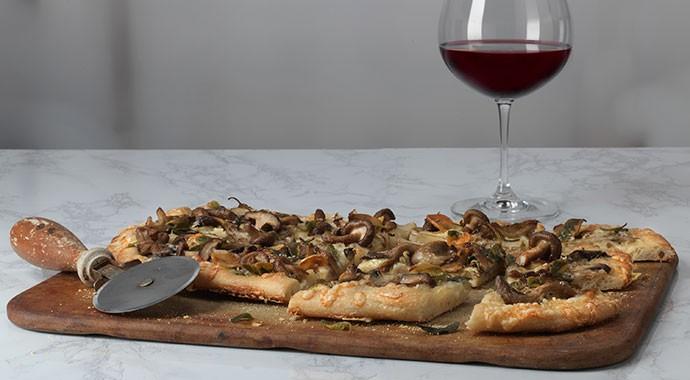Mushroom Flatbread Recipe