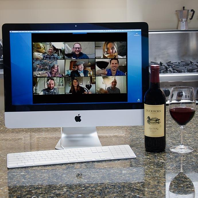 Virtual Wine Tastings with Decoy